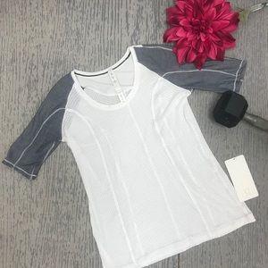 NWT Lululemon Raglan Short Sleeve Top